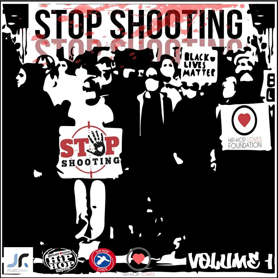 «Stop Shooting», un álbum contra la violencia armada y la brutalidad policial