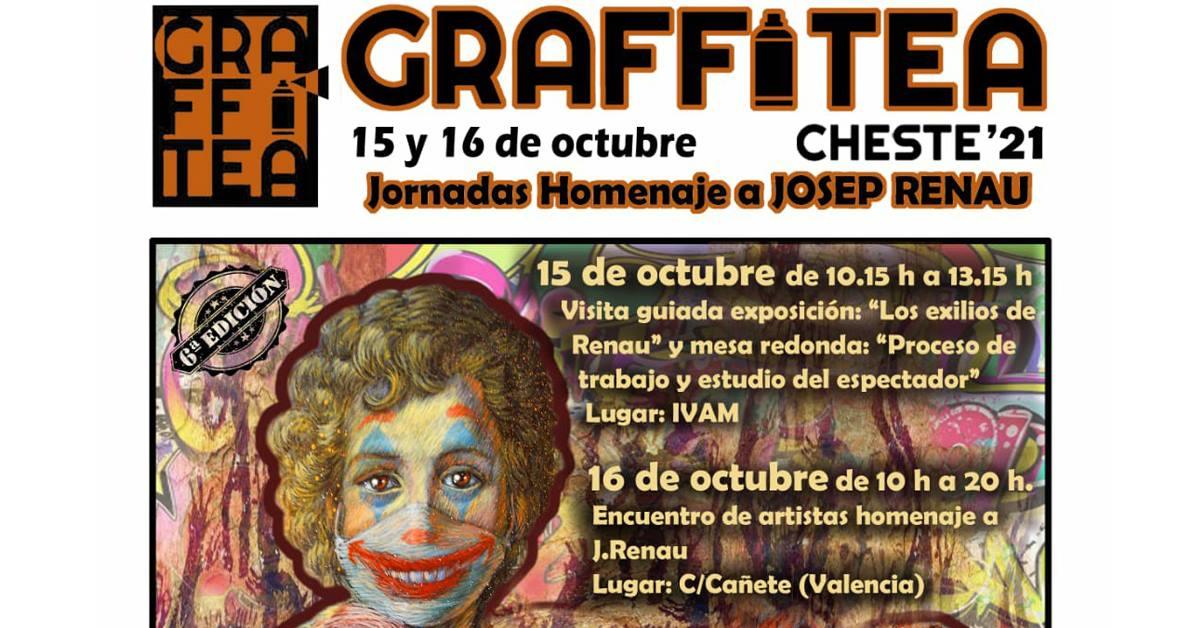Jornadas homenaje a Josep Renau en la presentación del GRAFFITEA Cheste 2021