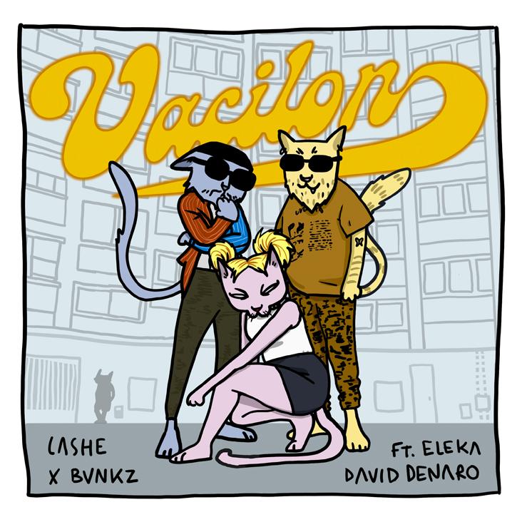 LASHE y BVNKZ lanzan «Vacilón»